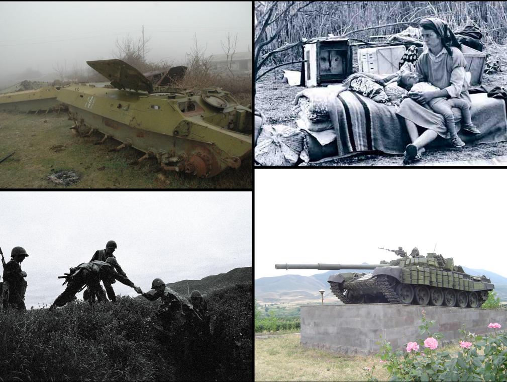 Первый конфликт в Нагорном Карабахе после распада СССР, в 1992 году
